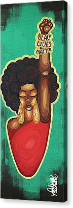 Blackart Canvas Prints