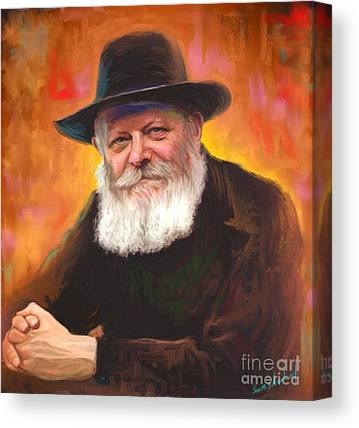 Jewish Art Canvas Prints