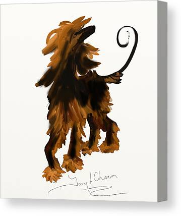 Ipad Design Paintings Canvas Prints