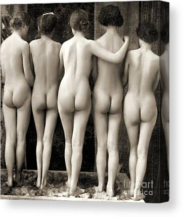 Belle Epoque Photographs Canvas Prints
