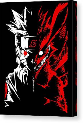 Two Face Canvas Prints