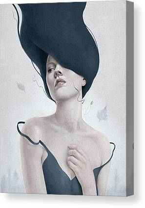 Female Canvas Prints