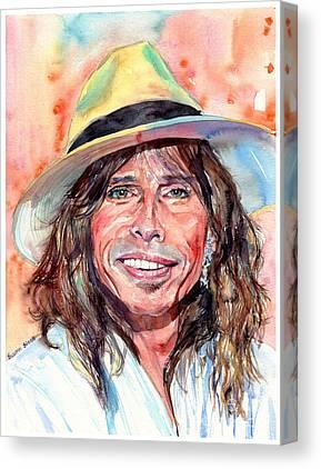 Music Rock Steven Tyler Canvas Prints