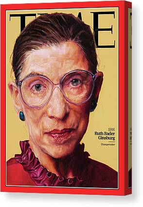 Time Magazine Canvas Prints