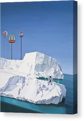 Ice Canvas Prints