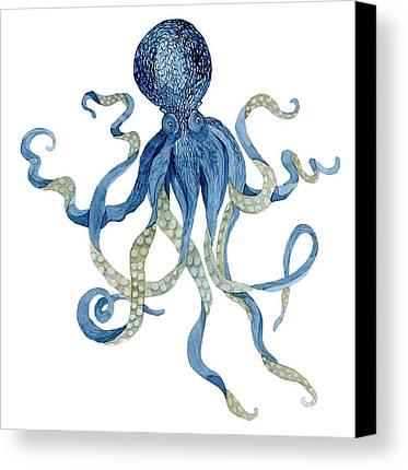 Designs Similar to Indigo Ocean Blue Octopus