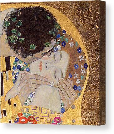 Lovers Canvas Prints