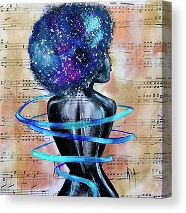 Blues Music Canvas Prints