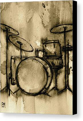 Drum Canvas Prints