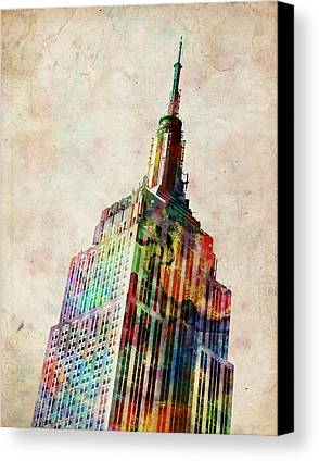 Empire State Building Canvas Prints