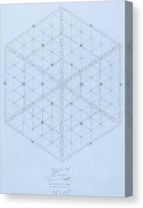 Fission Canvas Prints
