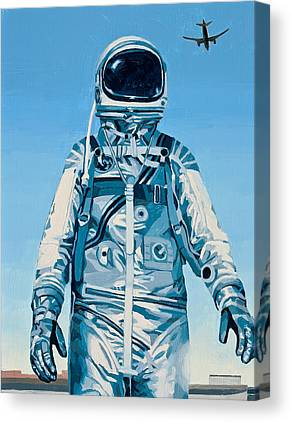 Astronaut Canvas Prints