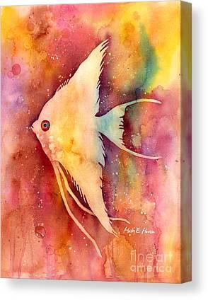 Decorative Fish Canvas Prints