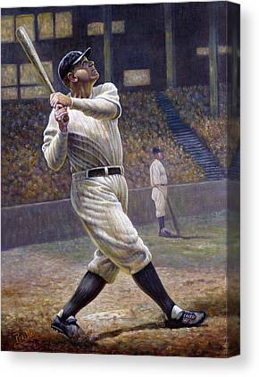 Dead Ball Era Canvas Prints