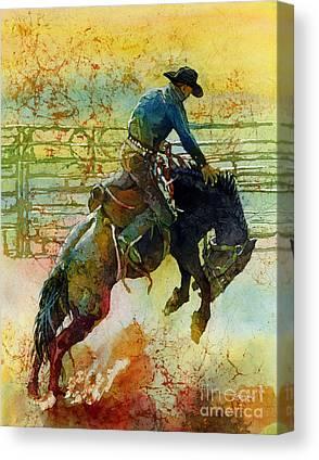 Cowboy Hat Canvas Prints
