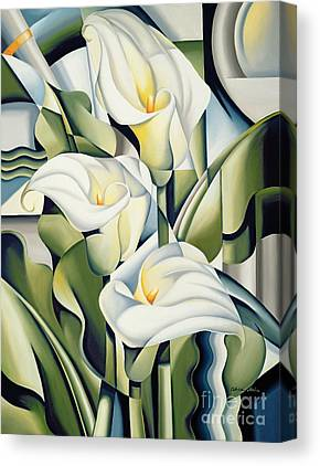 Lilies Canvas Prints