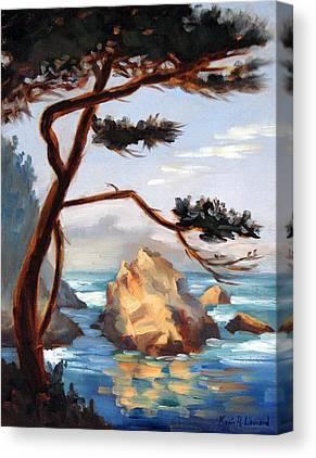 Whalers Cove Canvas Prints
