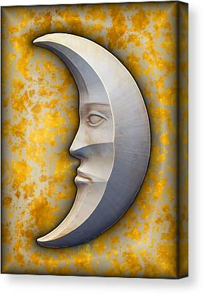 I See The Moon Canvas Prints