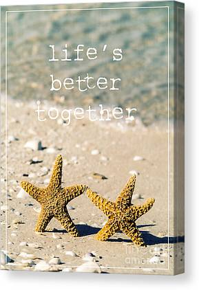 Sand Castles Canvas Prints