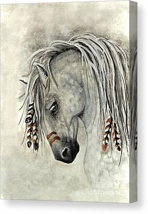 Horse Art On Canvas Prints