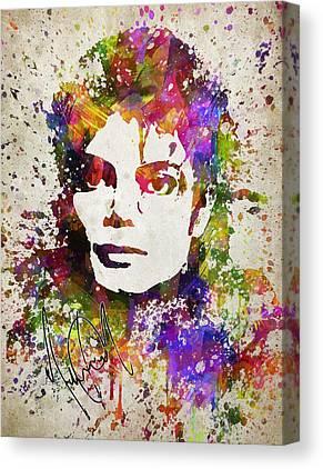 Jackson 5 Digital Art Canvas Prints