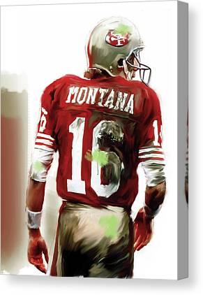 Joe Montana Canvas Prints