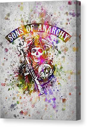 Grim Digital Art Canvas Prints