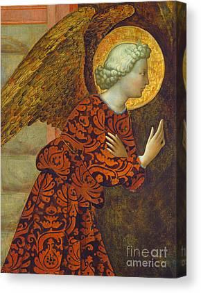Gabriel The Angel Canvas Prints