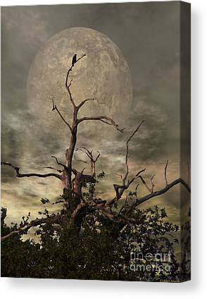 Spooky Scene Canvas Prints