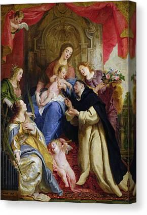 Saint Dominic Canvas Prints