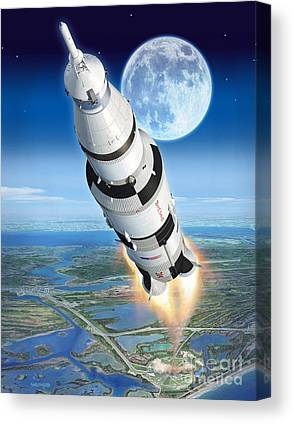 Neil Armstrong Neil Armstrong Canvas Prints