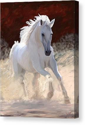 Arabian Canvas Prints