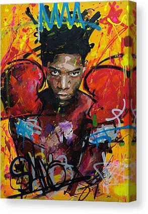 Basquiat Canvas Prints