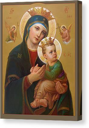 Rosary Digital Art Canvas Prints