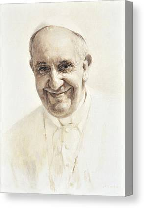 Saint Hope Canvas Prints