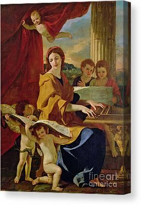 Patron Of Musicians Canvas Prints