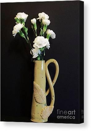Sculpted Vase Canvas Prints