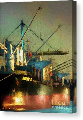 Container Digital Art Canvas Prints