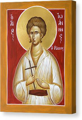 St John The Russian Paintings Canvas Prints
