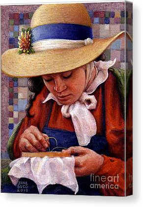 Traditional Quilt Canvas Prints