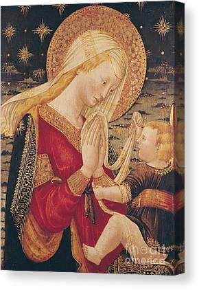 Infant Christ Canvas Prints