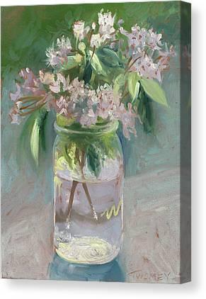 Water Jars Paintings Canvas Prints