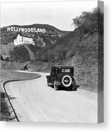 Hollywood Canvas Prints