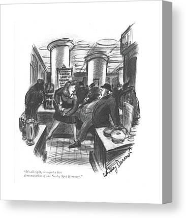 Demo Drawings Canvas Prints