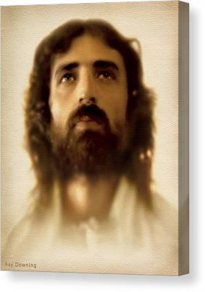 Christ Artwork Digital Art Canvas Prints