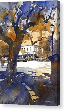 Toomers Oaks Canvas Prints