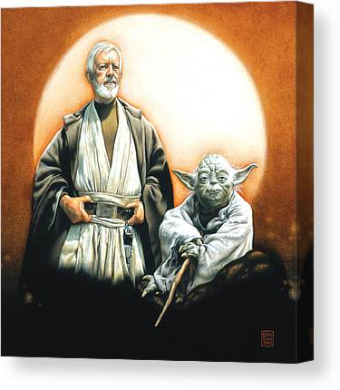 Empire Drawings Canvas Prints