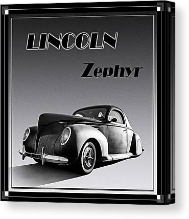 Classic Hotrod Canvas Prints
