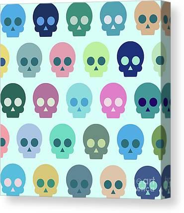 Dead Heads Canvas Prints