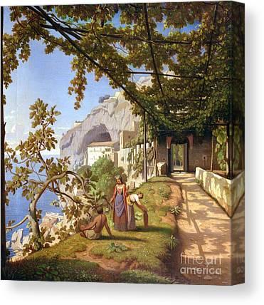 Winemaking Paintings Canvas Prints